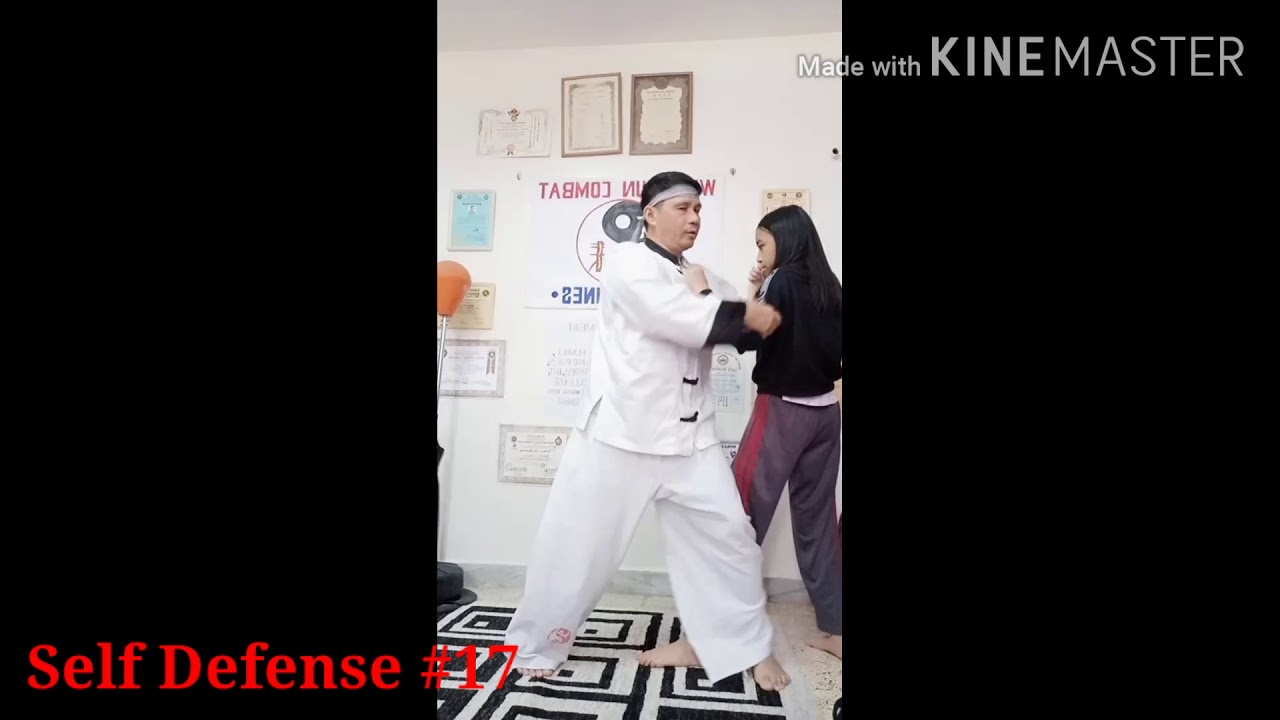 24 Kinds of Self Defense Techniques - Pinoy Self Defense - Wing Chun Combat