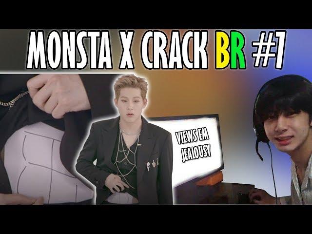 MONSTA X CRACK BR #7: ABS DO JOOHEON E VIEWS EM JEALOUSY
