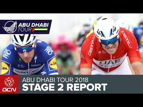 Abu Dhabi Tour 2018 | Stage 2 Race Report