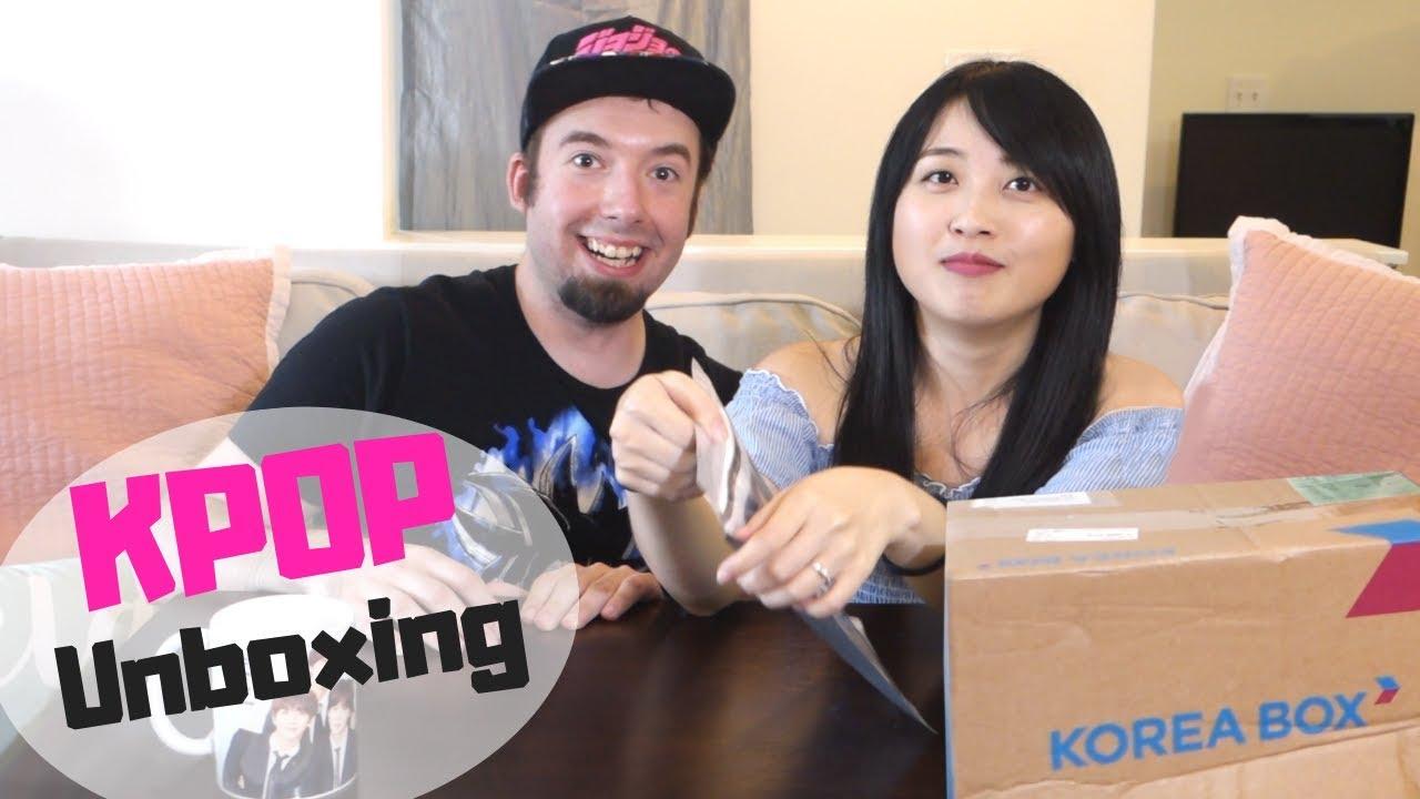 7152d8d4d1a Korea Box Unboxing - KPOP Merch   Korean Snacks - YouTube
