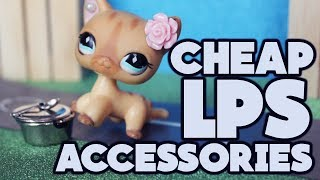 CHEAP LPS ACCESSORIES! Doll miniatures all from Flying Tiger!