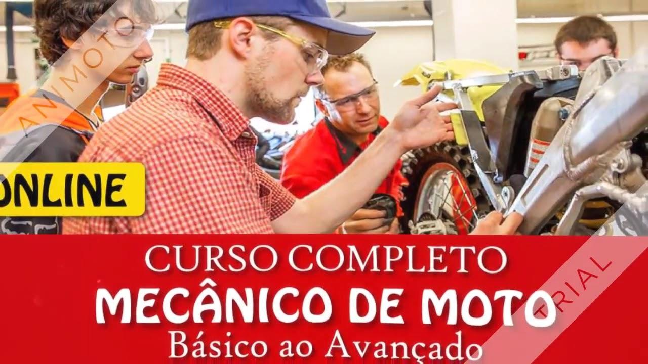 229d55775d6 🔝Curso Mecânico de Motos Completo Academia do Mecânico Online Treinamento  de Mecanico