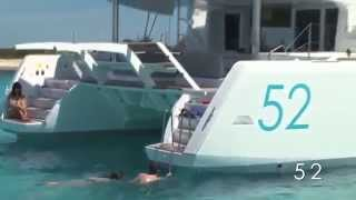 Lagoon 52 Catamaran yacht charter Croatia & Greece