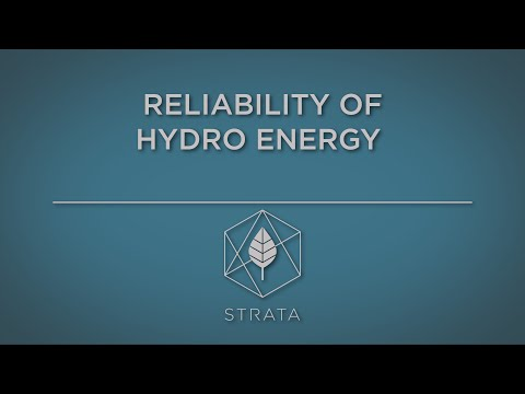 Reliability of Hydro Energy
