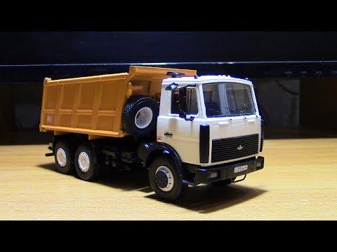 Сборка модели МАЗ 5516 AVD Models