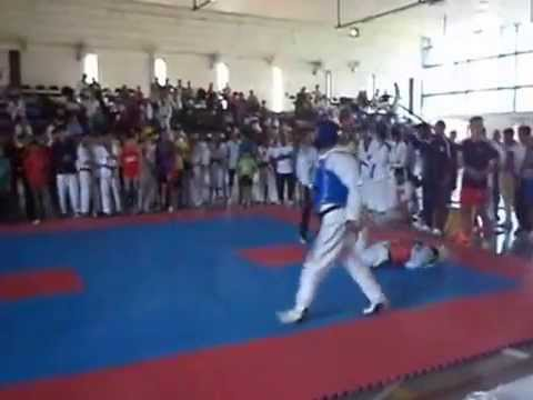 Chandigarh/Indian Taekwondo Players // Paras Kumar V/S Snehdeep Singh Chandigarh State 2014