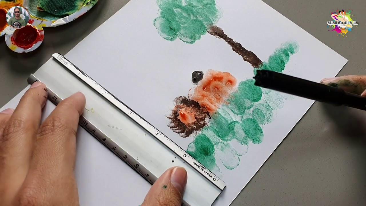ارسم قصتي للصف الأول الابتدائي طريقة رسم قصة الاسد والفار Youtube