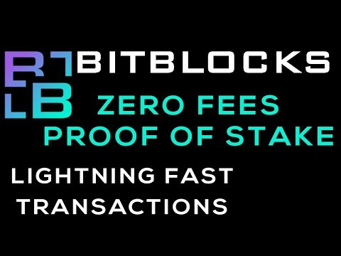 Passive Income with Bitblocks Proof of Stake Coin