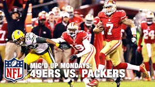 49ers Mic'd Up vs. Packers (2012) Divisional Round Playoffs | #MicdUpMondays | NFL