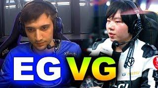 eg vs vg incredible game hype chongqing major dota 2