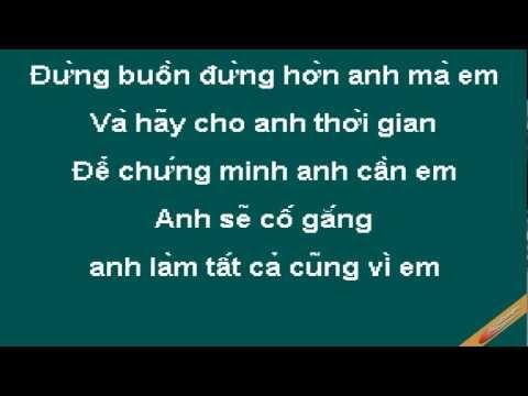 Không Bao Giờ Bó Tay 2 Karaoke - Tống Gia Vỹ - CaoCuongPro