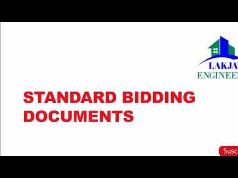 STANDARD BIDDING DOCUMENTS