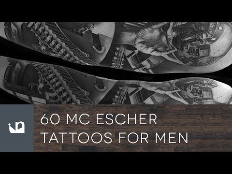 60 Mc Escher Tattoos For Men Youtube