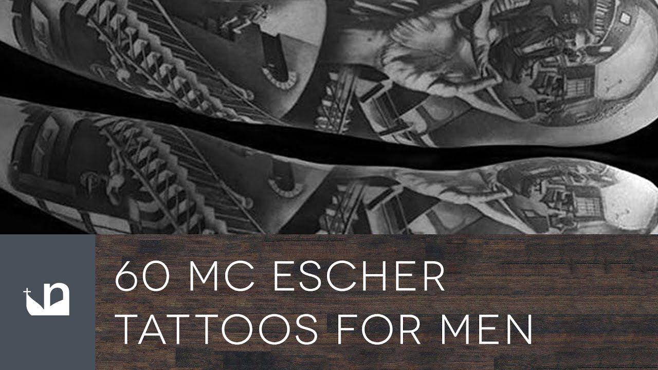 60 Mc Escher Tattoos For Men