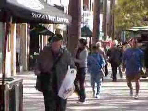 people in LosAngels,  Santa-Monica2