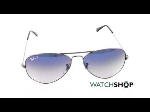 Ray-Ban Men s Aviator Gradient Sunglasses (RB3025-004 78-58) - YouTube da401f461651