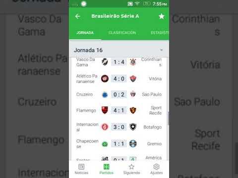 Resultados Y Tabla De Posiciones Fecha 16 Brasileirao 2018