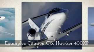 private jet charter aircraft types available from jetoptions private jets