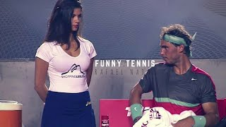 Tennis. Rafael Nadal  - TOP EVER FUNNY Moments
