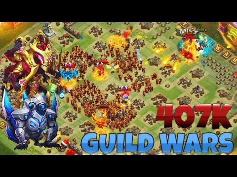 Guild Wars | SAFEST STRATEGY | 2 Heroes | CASTLE CLASH