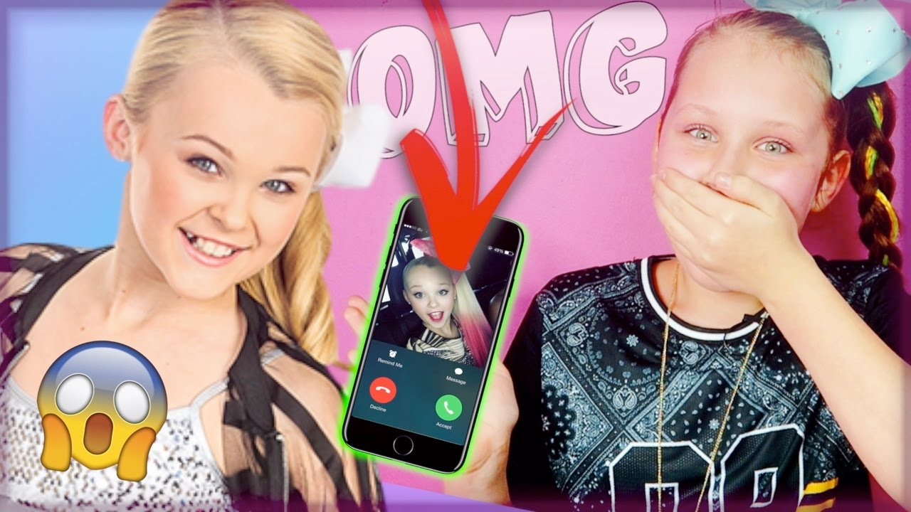 calling jojo siwa she answered omg funnycat tv. Black Bedroom Furniture Sets. Home Design Ideas