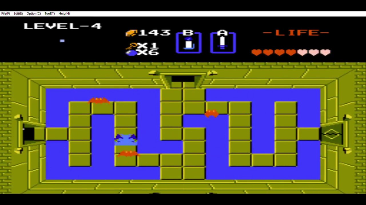 The Legend Of Zelda Nes Part Two Swastika Dungeonand The