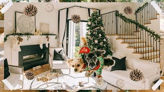 DECORATE WITH ME - CHRISTMAS EDITION | DESI PERKINS