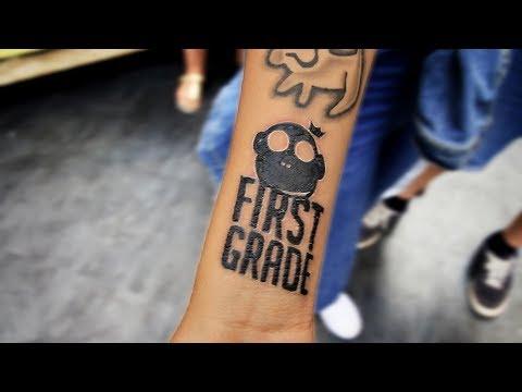 Fan har fået FirstGrade Tattoo!?