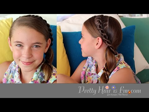 Side Mohawk Braid Tutorial | Medium Hairstyles | Pretty Hair is Fun