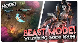 BEAST MODE! Vainglory 5v5 [Ranked] Gameplay - Alpha |WP| Jungle Gameplay