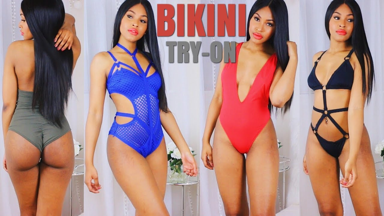 f413836abf5cc Lit Bathing Suits Try on Haul