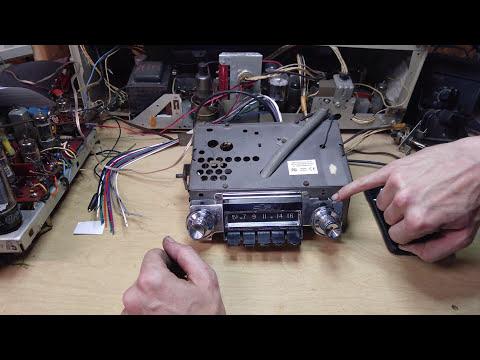 61 Chevy Radio FM & Bluetooth Conversion