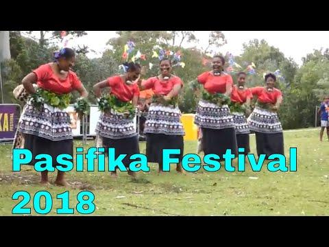 Fijian dance, Pasifika Festival 2018