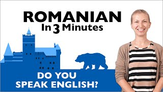 Romanian in Three Minutes - Do You Speak English?