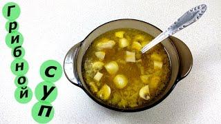 готовим - домашний грибной суп