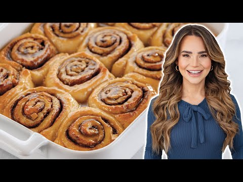 The PERFECT Cinnamon Rolls Recipe (Caramel Apple!) – Baking Basics