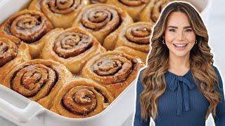 The PERFECT Cinnamon Rolls Recipe (Caramel Apple!) - Baking Basics