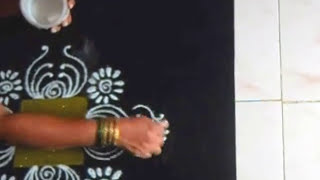 Drawing a very simple freehand rangoli