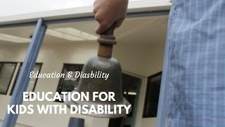 Special Education: For Children with Disabilities