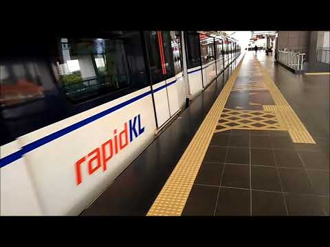 LRT Putra Height Line Malaysia  Awan Besar to Bukit Jalil Stadium