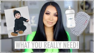 BABY MUST HAVES || WHAT YOU ACTUALLY NEED