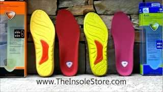 Sof Sole Arch Insoles Review @ TheInsoleStore.com