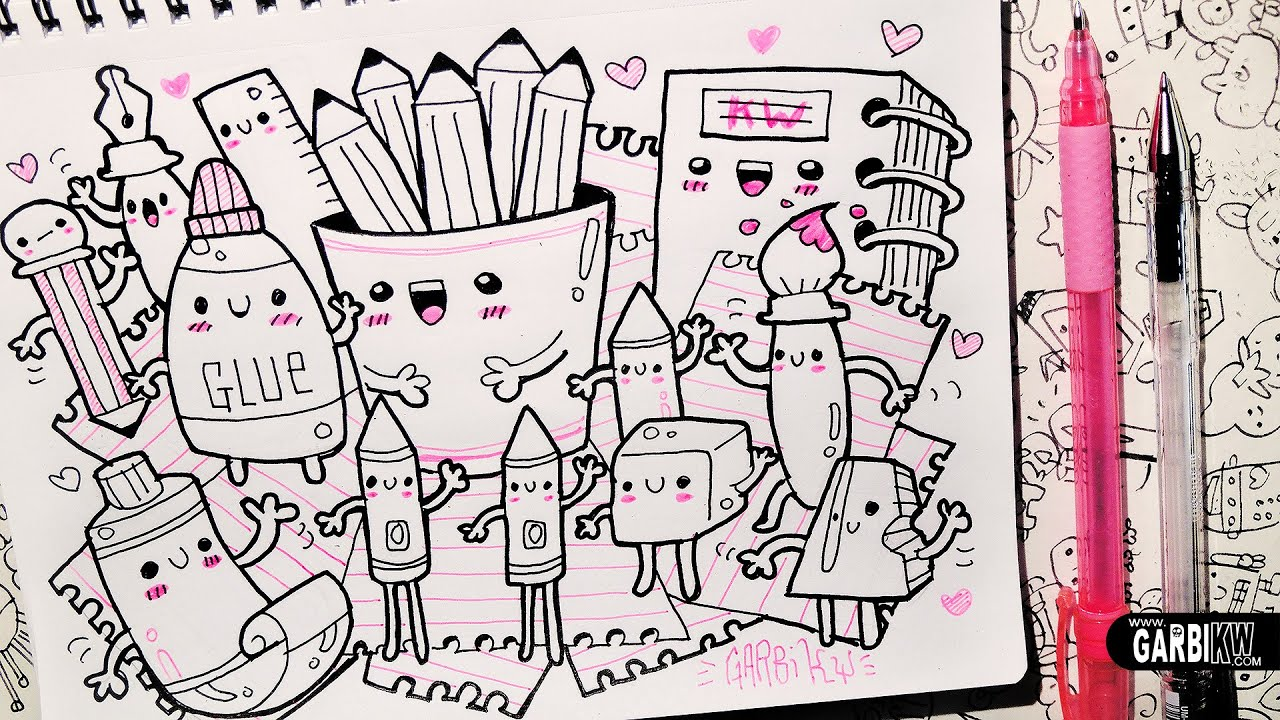 Image gallery kawaii doodles for Cute little doodles to draw