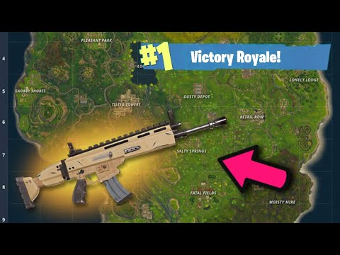 HOW TO GET THE BEST LOOT EVERY TIME In FORTNITE BATTLE ROYALE! FORTNITE SCAR LOCATION!