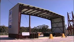 Building It Better: Earthquake Testing Metal Buildings