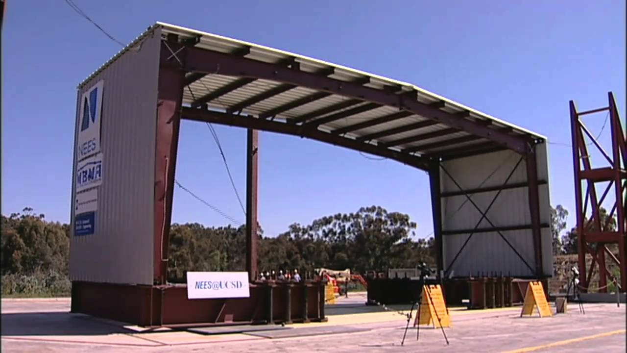 Building It Better Earthquake Testing Metal Buildings