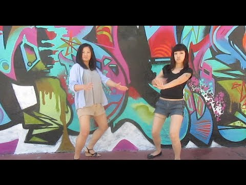 Dancing around LA with friends