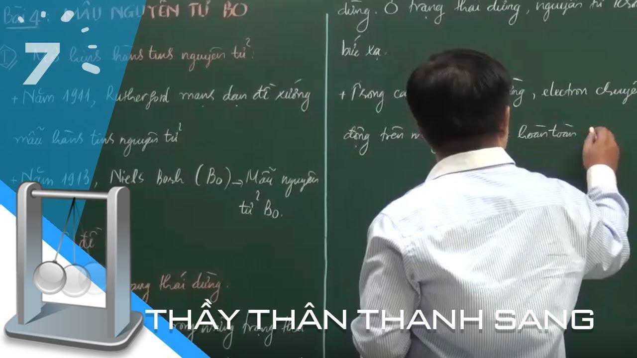 Vật lý 12 Bài 33: Mẫu nguyên tử Bo | HỌC247