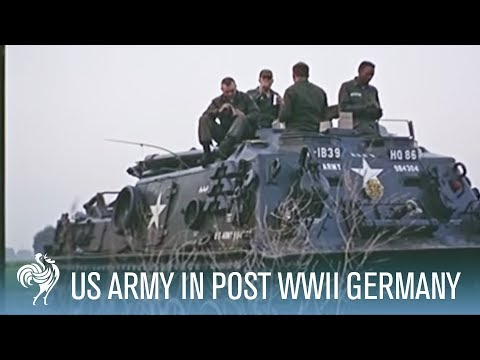 Documenting The US Army In Post-World War II Germany (1966) | War Archives