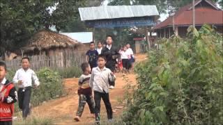 Akha village trek, Muang Sing, Laos,